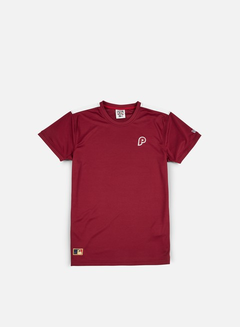 Outlet e Saldi T-shirt a Manica Corta New Era Border Edge Badge T-shirt  Philadelphia Phillies