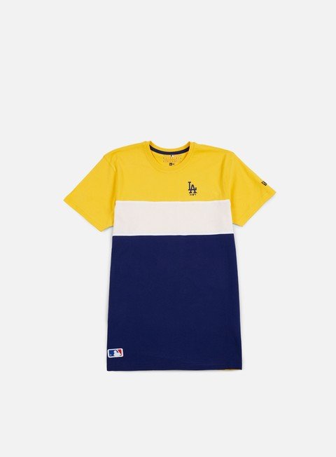 t shirt new era border edge ii panel t shirt la dodgers rose gold