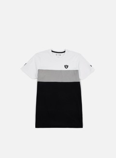 New Era - Border Edge II Panel T-shirt Oakland Raiders, White 1