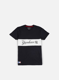 New Era - Border Edge Panel T-shirt NY Yankees, Navy 1