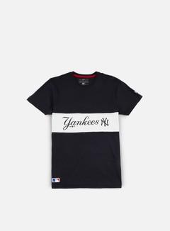 New Era Border Edge Panel T-shirt NY Yankees