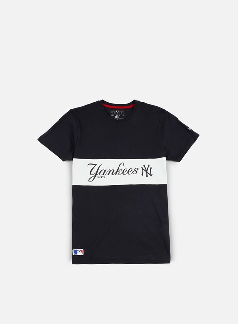 t shirt new era border edge panel t shirt ny yankees navy