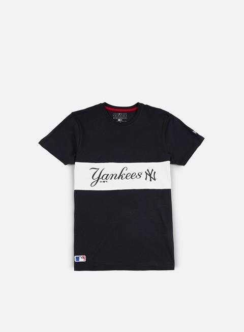 T-shirt a manica corta New Era Border Edge Panel T-shirt NY Yankees