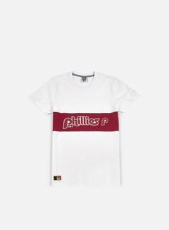 New Era - Border Edge Panel T-shirt Philadelphia Phillies, White 1
