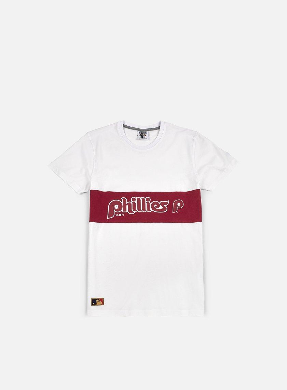 New Era - Border Edge Panel T-shirt Philadelphia Phillies, White