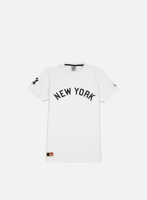 Outlet e Saldi T-shirt a Manica Corta New Era Cooperstown T-shirt NY Yankees