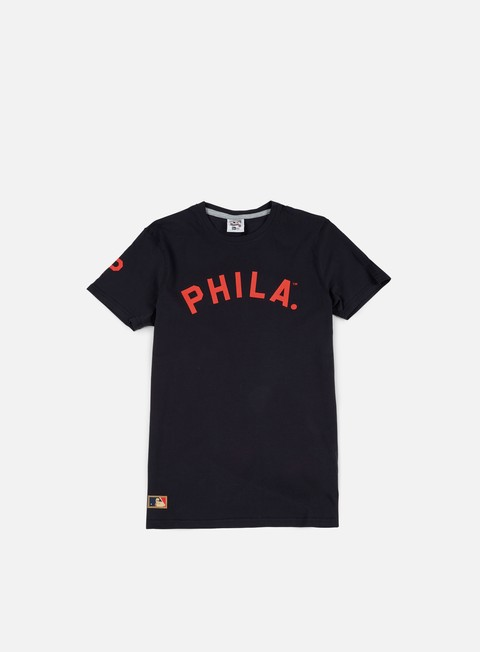 Outlet e Saldi T-shirt a Manica Corta New Era Cooperstown T-shirt Philadelphia Phillies
