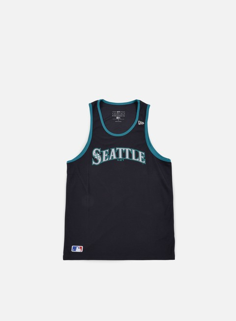 t shirt new era diamond era tank seattle mariners navy