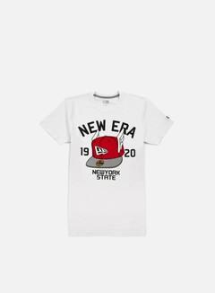 New Era - Flying Cap T-shirt, White 1