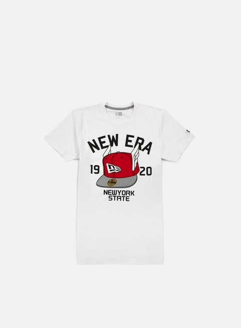 t shirt new era flying cap t shirt white