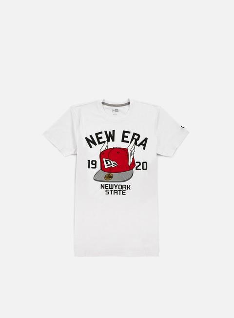 T-shirt a Manica Corta New Era Flying Cap T-shirt