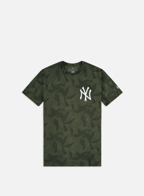 Sport Team T-shirts New Era Geometric Camo T-shirt NY Yankees