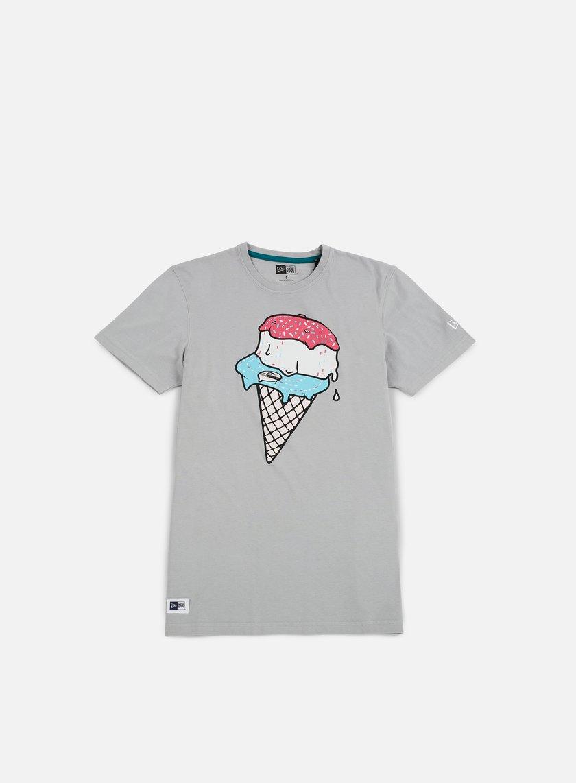 New Era - Ice Cream T-shirt, Grey