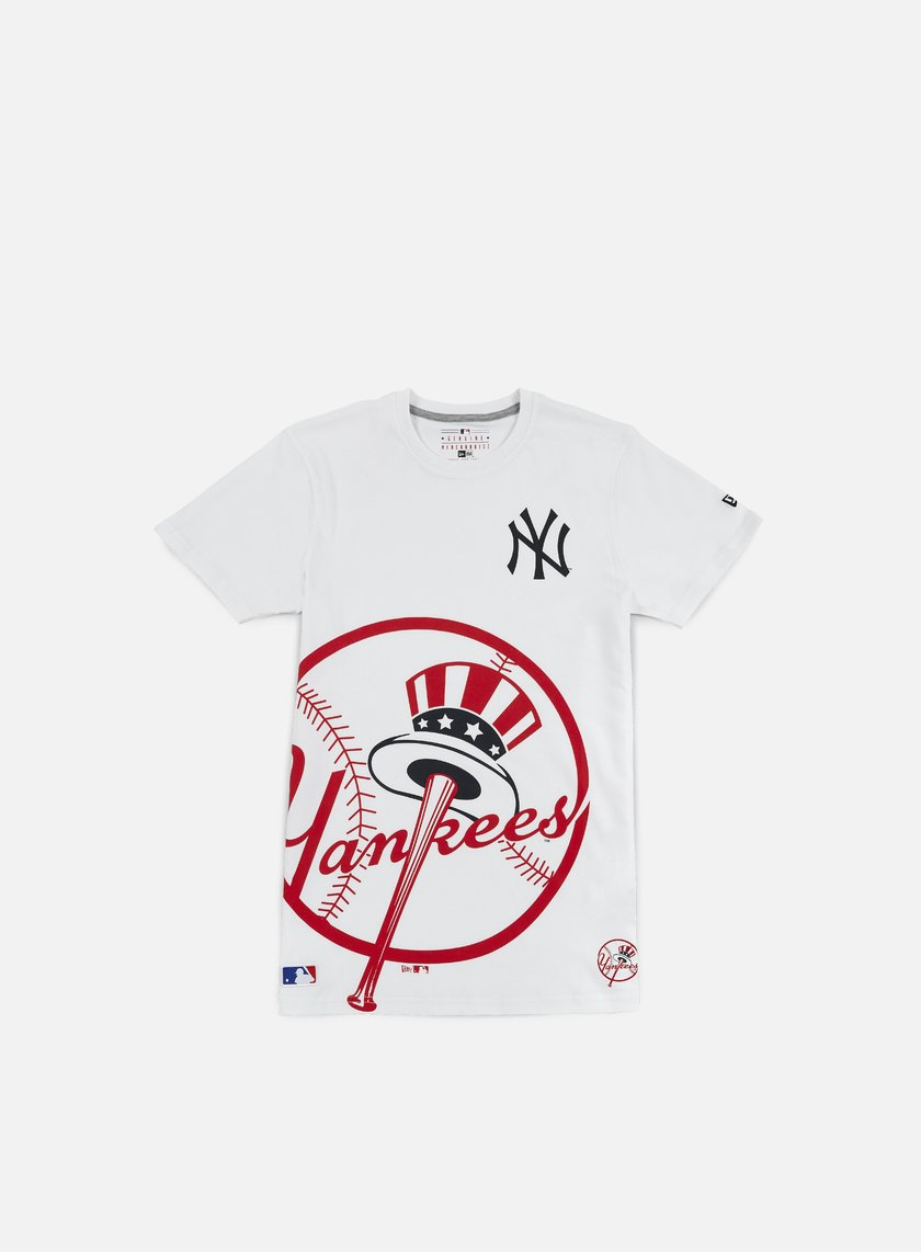 New Era - MLB Big Logo T-shirt NY Yankees, White