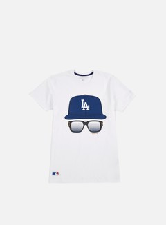 New Era - MLB Cap And Glasses T-shirt LA Dodgers, White 1