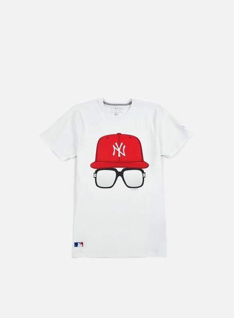 T-shirt a manica corta New Era MLB Cap And Glasses T-shirt NY Yankees