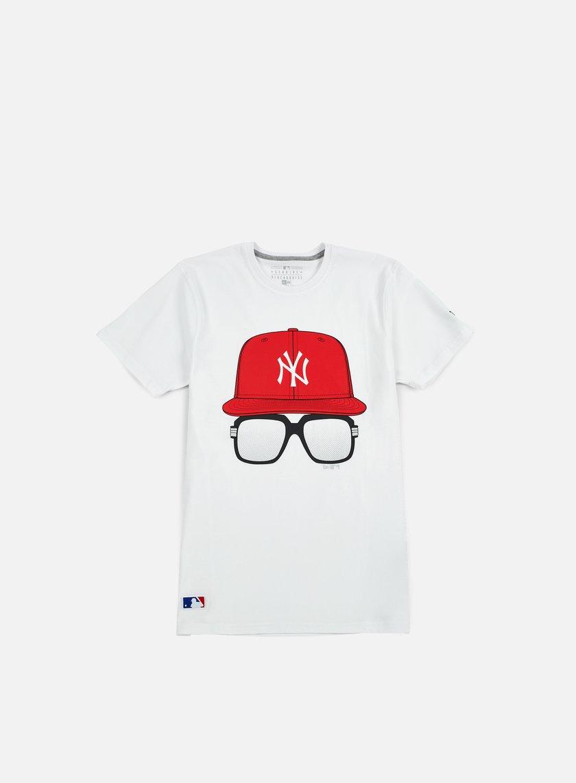 New Era MLB Cap And Glasses T-shirt NY Yankees