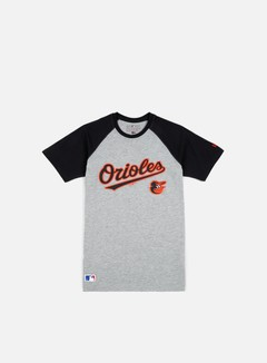 New Era - MLB Classic T-shirt Baltimore Orioles, Light Grey Heather 1