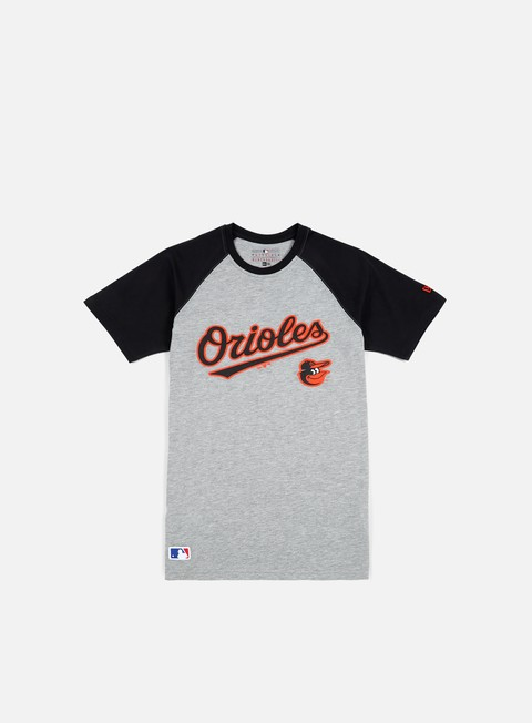 t shirt new era mlb classic t shirt baltimore orioles light grey heather