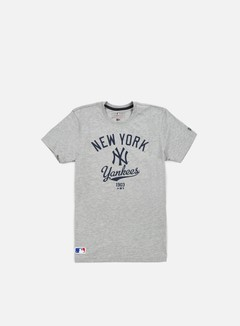 New Era - MLB College T-shirt NY Yankees, Light Grey Heather 1