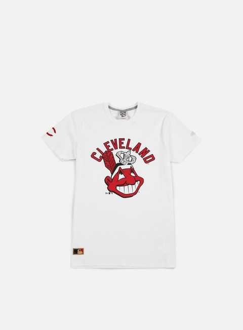 t shirt new era mlb coop script t shirt cleveland indians white