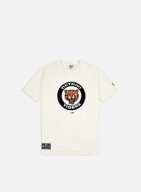 Outlet e Saldi T-shirt a Manica Corta New Era MLB Cooperstown T-shirt Detroit Tigers