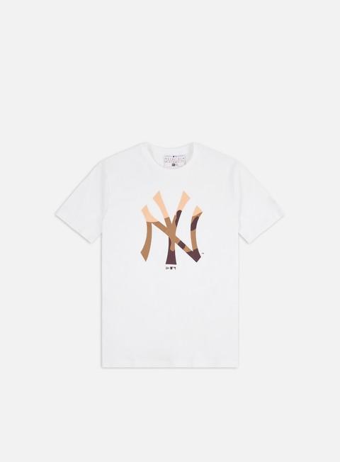 Outlet e Saldi T-shirt a Manica Corta New Era MLB EXT Camo Infill T-shirt NY Yankees