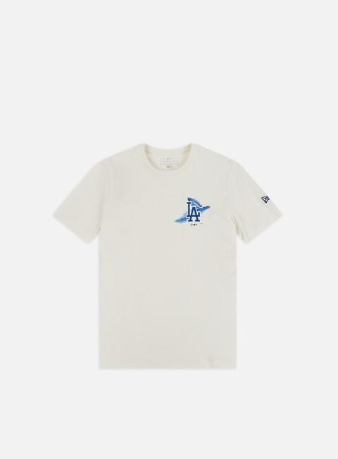 Outlet e Saldi T-shirt a Manica Corta New Era MLB Island Logo T-shirt LA Dodgers