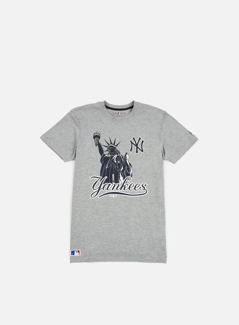 Outlet e Saldi T-shirt a Manica Corta New Era MLB Location T-shirt NY Yankees