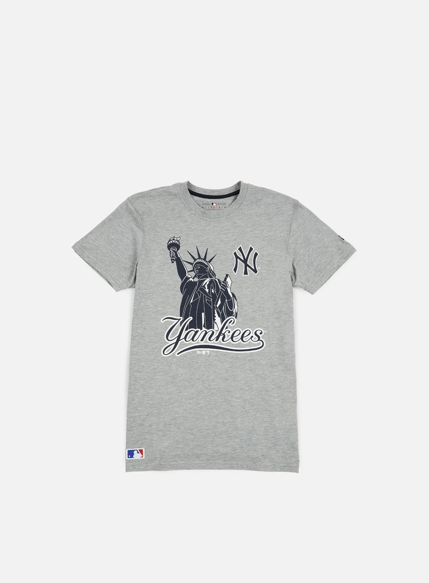 New Era - MLB Location T-shirt NY Yankees, Light Grey Heather