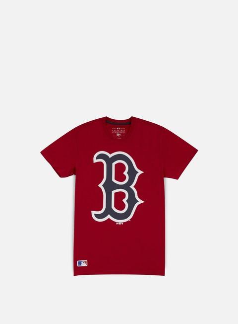 t shirt new era mlb og logo t shirt boston red socks scarlet