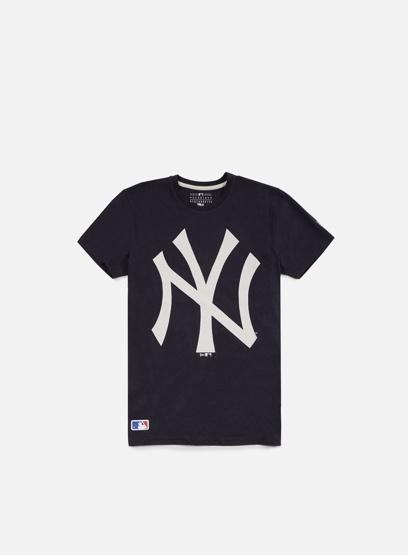 New Era - MLB OG Logo T-shirt NY Yankees, Navy
