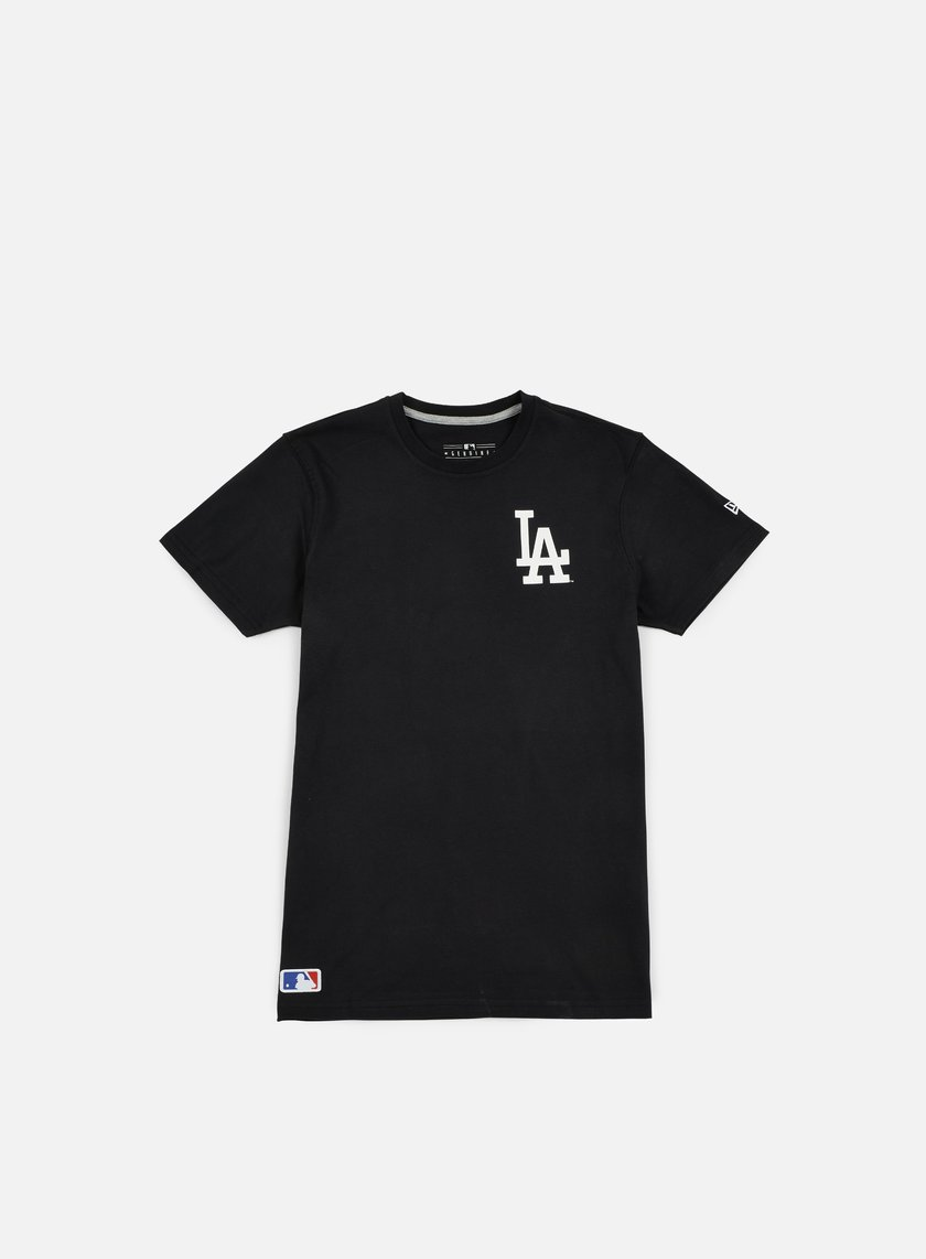 New Era - MLB Pop Bk Script T-shirt LA Dodgers, Black