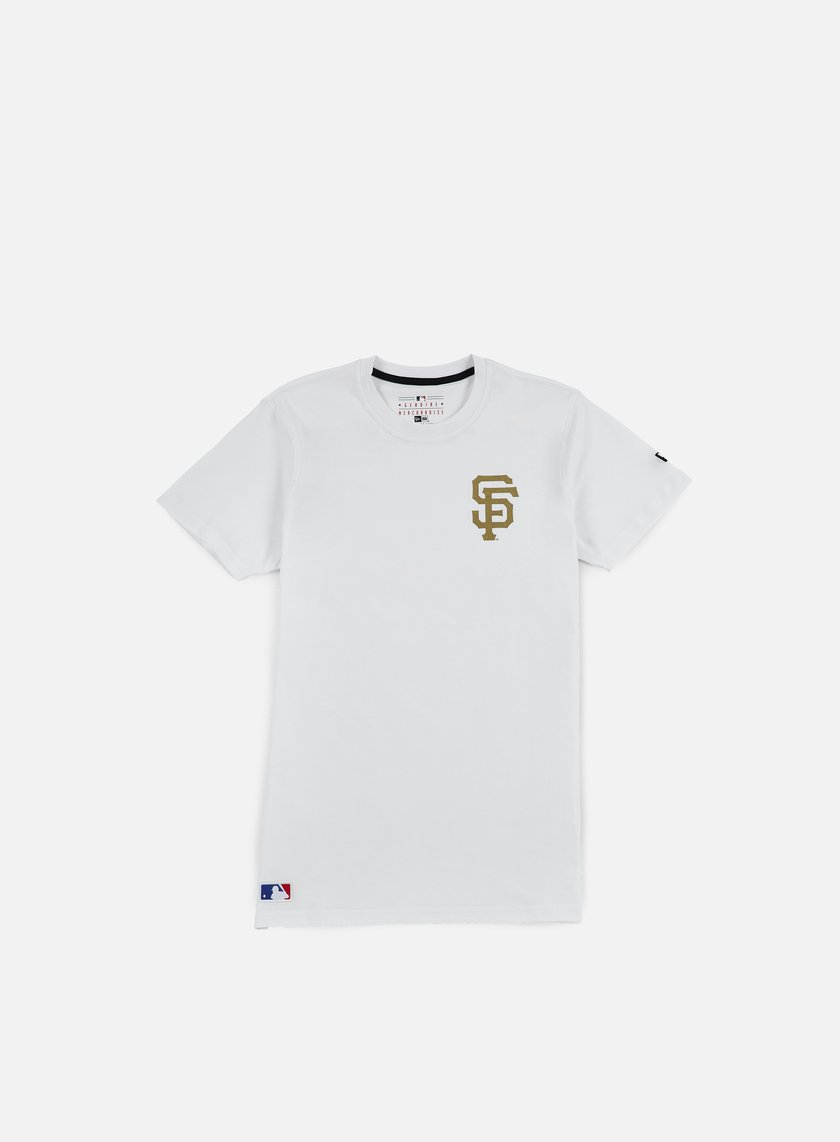 New Era - MLB Pop Bk Script T-shirt San Francisco Giants, White
