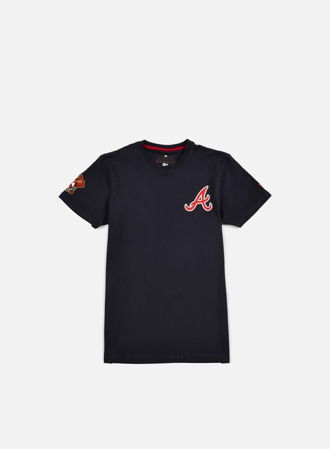 t shirt new era mlb pop t shirt atlanta braves navy