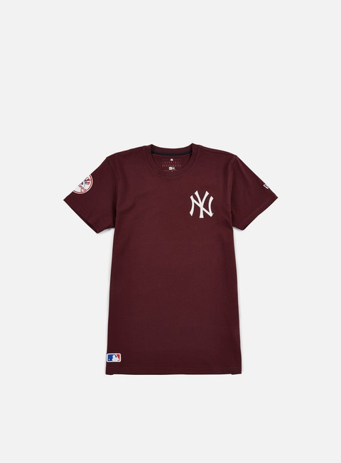t shirt new era mlb pop t shirt ny yankees maroon