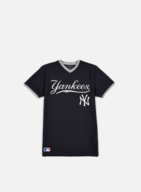 t shirt new era mlb ringer t shirt ny yankees navy