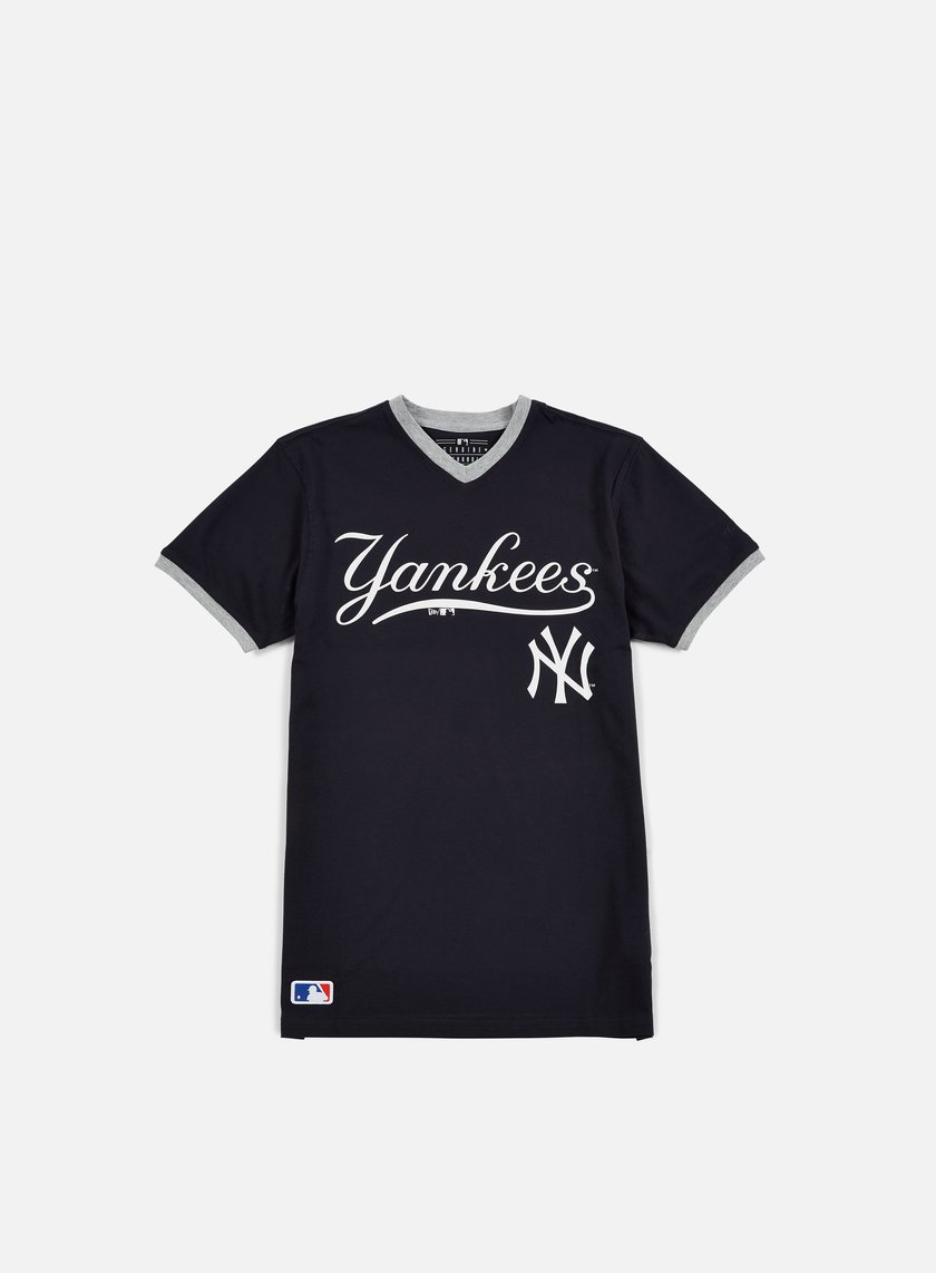 New Era - MLB Ringer T-Shirt NY Yankees, Navy