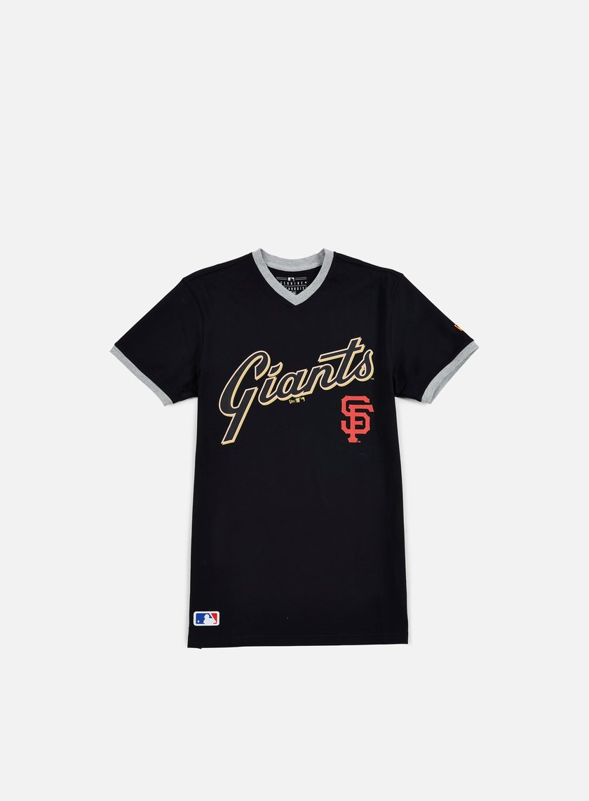 New Era - MLB Ringer T-Shirt San Francisco Giants, Black