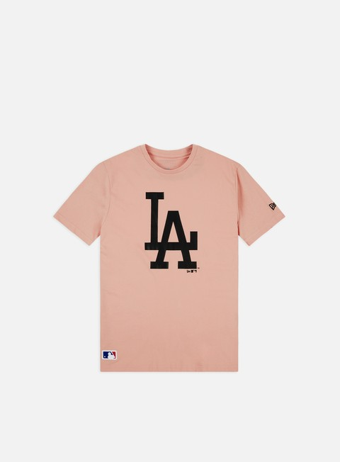 Short Sleeve T-shirts New Era MLB Seasonal Team Logo T-shirt LA Dodgers