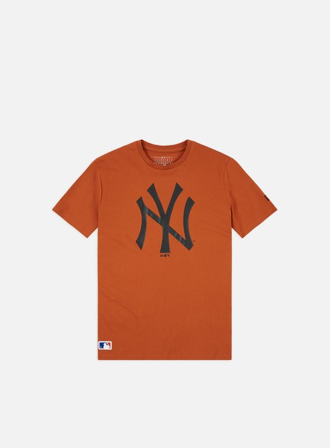 Outlet e Saldi T-shirt a Manica Corta New Era MLB Seasonal Team Logo T-shirt NY Yankees