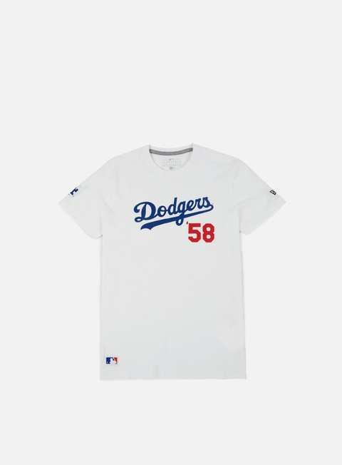 t shirt new era mlb superscript t shirt la dodgers white