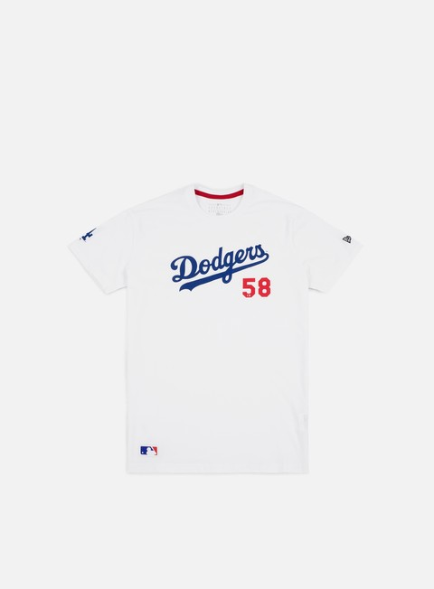 Short Sleeve T-shirts New Era MLB Superscript T-shirt Los Angeles Dodgers