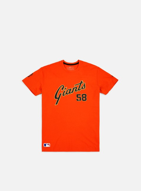 Short Sleeve T-shirts New Era MLB Superscript T-shirt San Francisco Giants