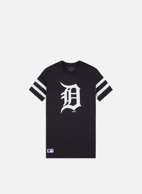 Short Sleeve T-shirts New Era MLB Team Logo T-shirt Detroit Tigers