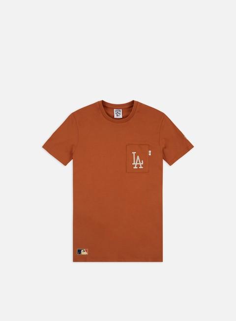 Outlet e Saldi T-shirt pocket New Era MLB Vintage Pocket Logo T-shirt LA Dodgers