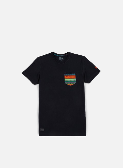 t shirt new era native pocket t shirt black