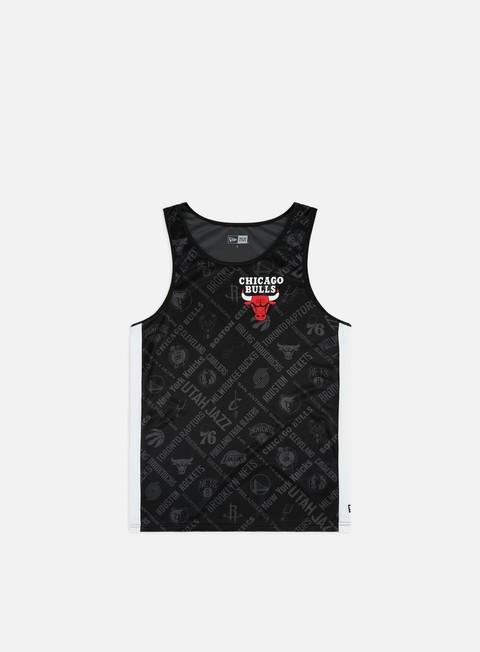 Outlet e Saldi Canotte New Era NBA All Over Print Tank Chicago Bulls