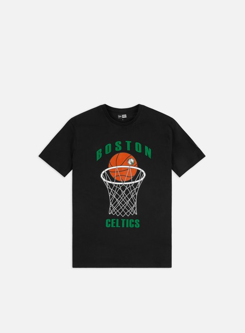 Sport Team T-shirts New Era NBA Basketball T-shirt Boston Celtics