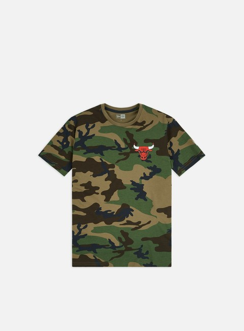 Sport Team T-shirts New Era NBA Camo T-shirt Chicago Bulls